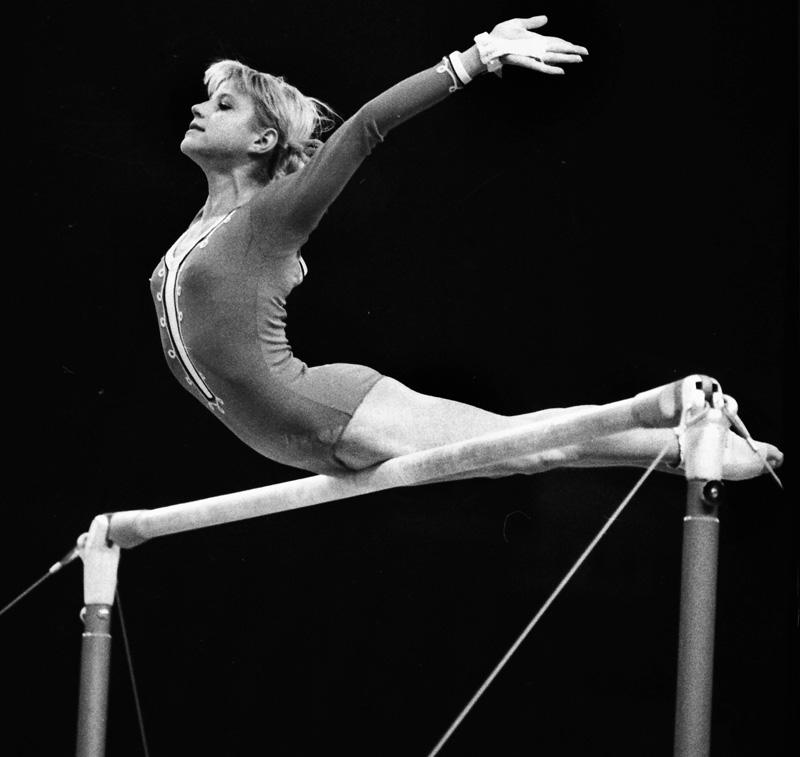 Корбут со своей программой совершила революцию в гимнастике.