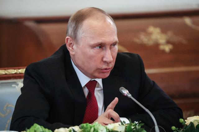 Встреча В.Путина с руководителями международных информационных агентств.
