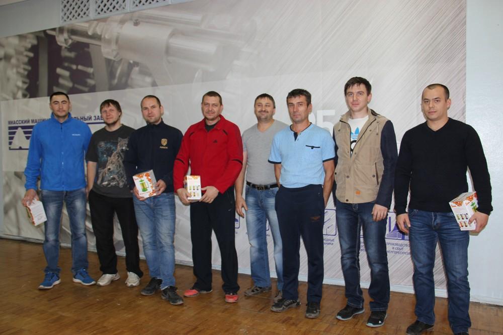 Участники конкурса профмастерства