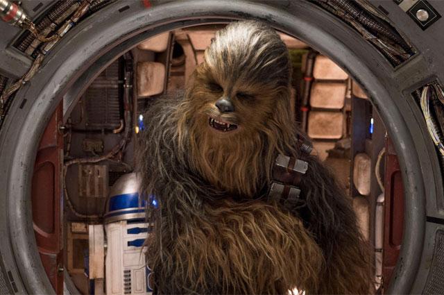 Чуи иробот R2-D2. «Звёздные войны: Последние джедаи»