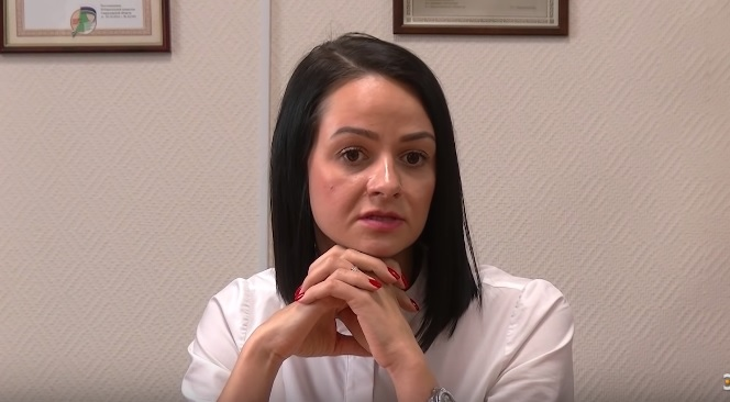Ольга Глацких.