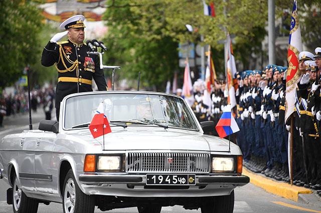 Вице-адмирал Александр Моисеев.