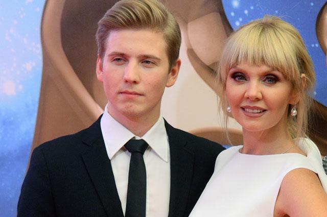 Валерия и её сын Артемий Шульгин.