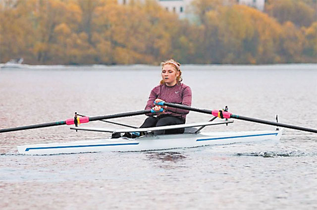 Мария Лазарева всю спортивную карьеру провела в районе.