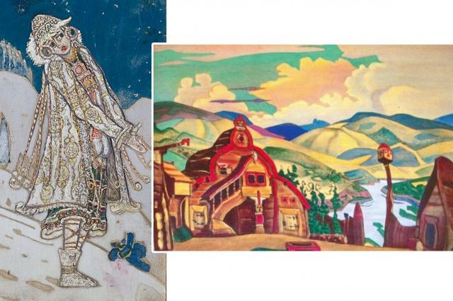 Постановка «Снегурочка», к которой художник создавал костюмы, в своё время стала настоящей сенсацией.