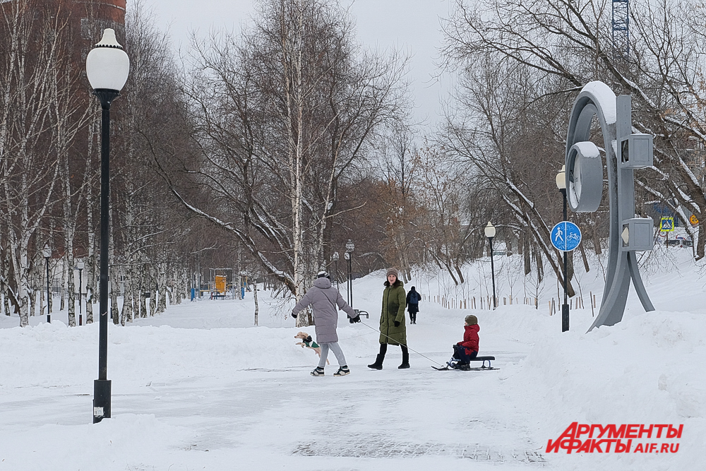 Сквер Олега Новосёлова - тоже долина малой речки.