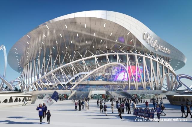 Здание комплекса будет состоять из семи этажей, разделенных на 14 секторов.
