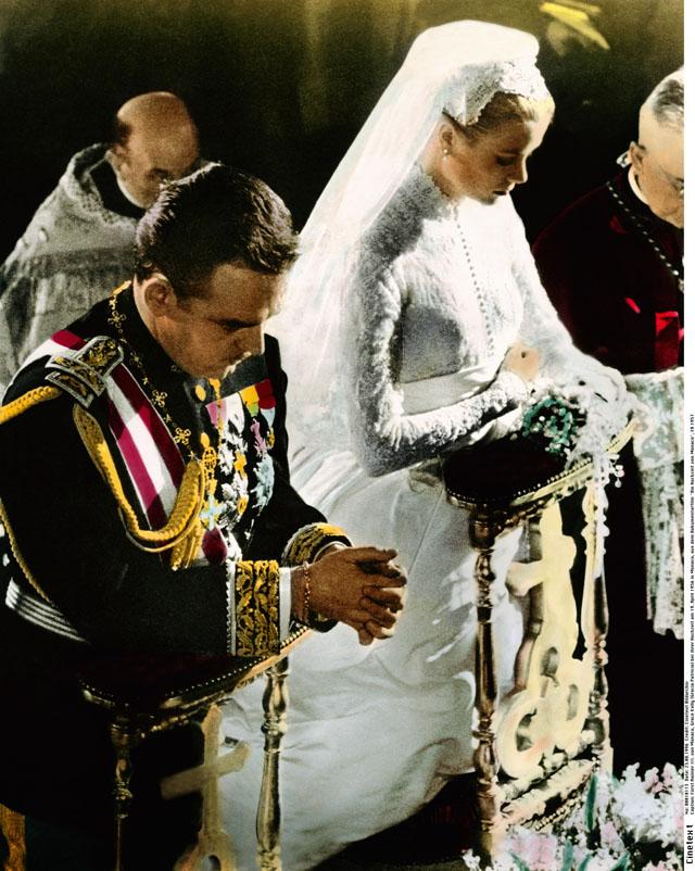 Свадьба Грейс Келли и князя Монако Ренье III