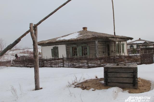 В строительстве деревянных домов шолоховских времён принимали участие местные жители