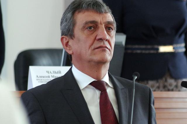 Губернатор Севастополя Сергей Меняйло, избранный в результате голосования депутатами Законодательного собрания города.