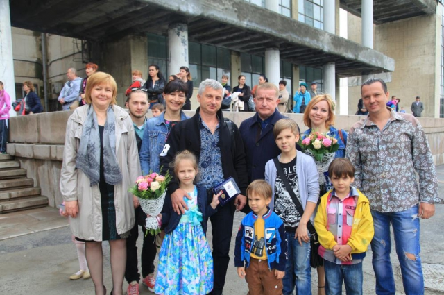 Ростовские семьи поздравил глава Администрации города Сергей Горбань.