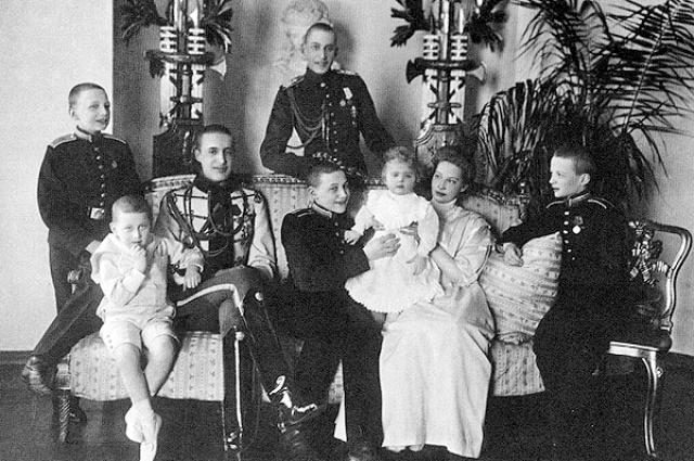 Семья Великого князя Константина Константиновича.