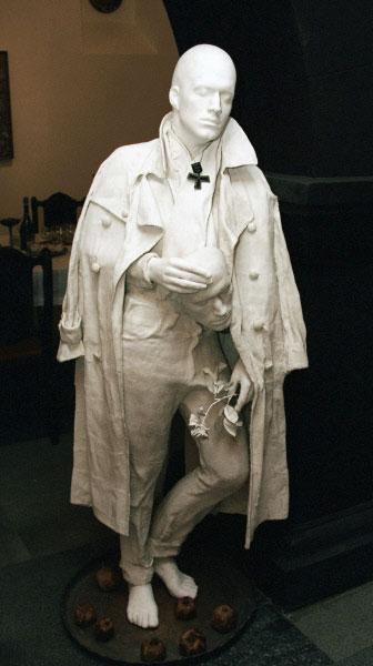 Скульптура работы Сергея Параджанова из экспозиции Музея режиссёра в Ереване