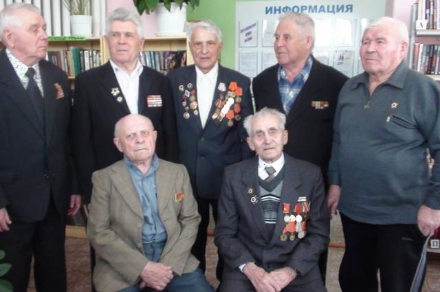 Ветераны ВОВ из Боготольского района.