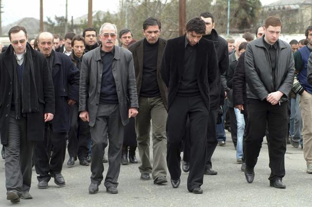 Похороны Левана Каладзе - брата грузинского футболиста Кахабера (Каха) Каладзе. 2006 год.