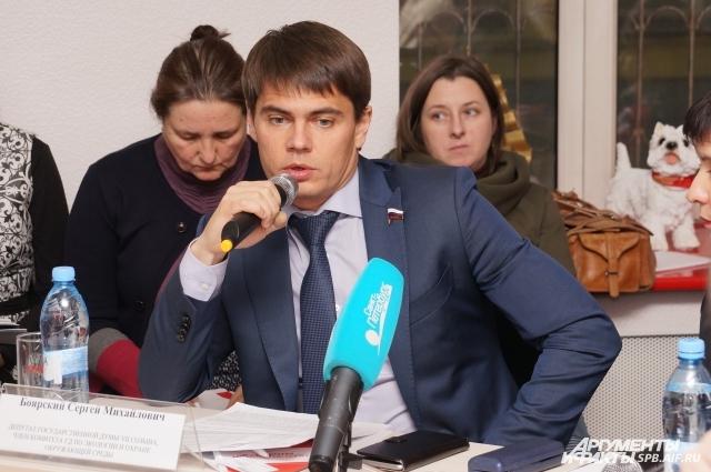 Сергей Боярский рассказал о рекультивации полигона