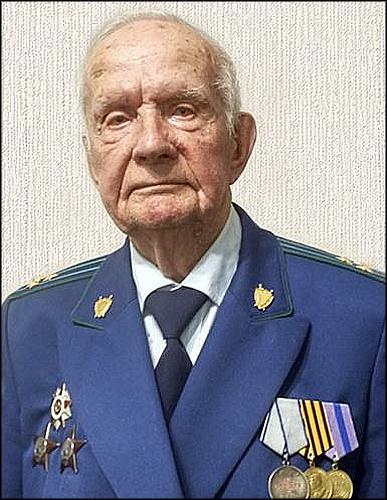 Ветеран Михаил Ветошкин