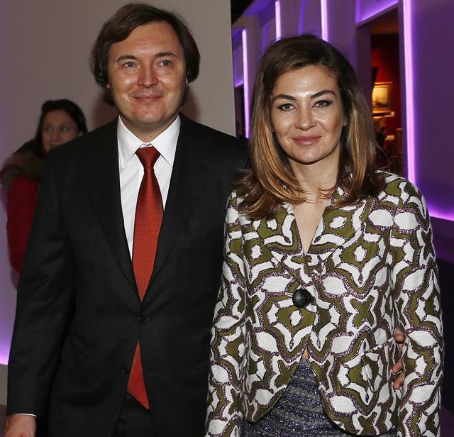 Андрей Молчанов с супругой Елизаветой.