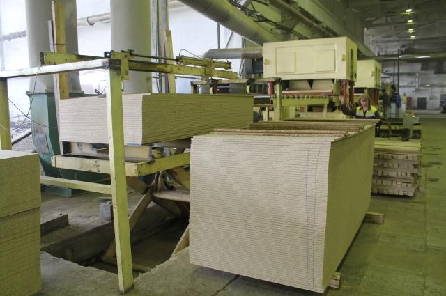 В городе будут производить древесно-стружечные плиты, которые используются в том числе при изготовлении мебели.