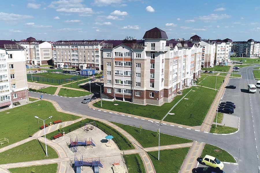 Жилой комплекс «Новая заря».