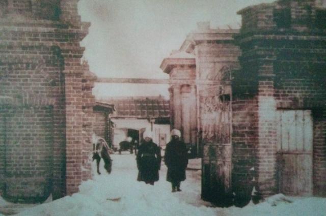 Караул у резиденции А. В. Колчака. Омск, январь 1919 года