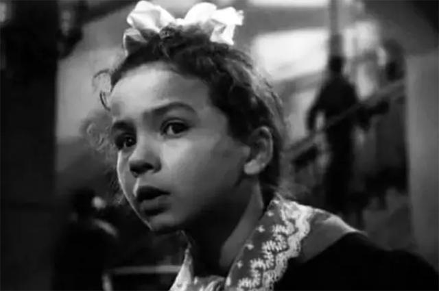 Наталья Рычагова в фильме «Васёк Трубачёв и его товарищи». 1955 г.