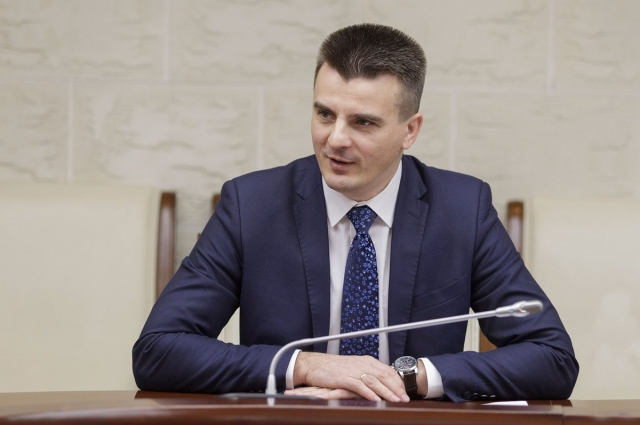 Председатель комитета Тульской области по предпринимательству и потребительскому рынку Вячеслав Романов.