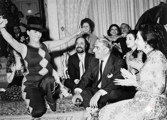 Аристотель Онассис в Персии. 1973 год