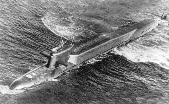 Фото: Атомная подводная лодка, на которой служил Валерий