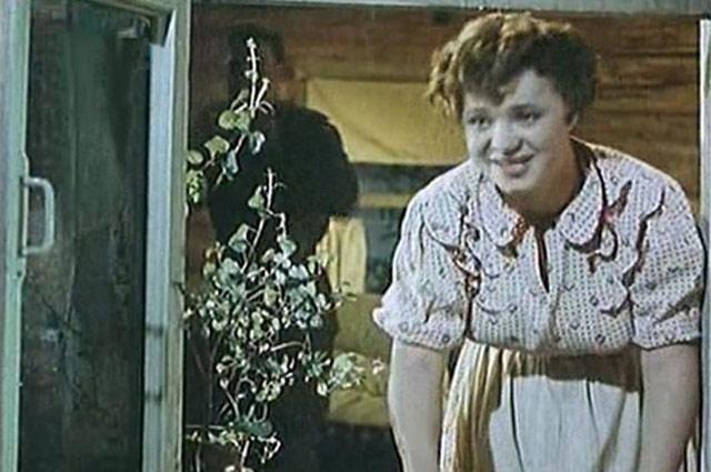 Наталья Крачковская в фильме « Русский сувенир», 1960 год