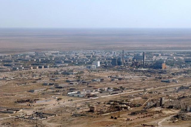 Байконур в 2004 году.