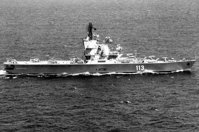 Три года крейсер простоял без дела.