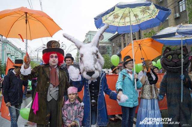 Темой карнавального шествия 2016 года стал кинематограф.