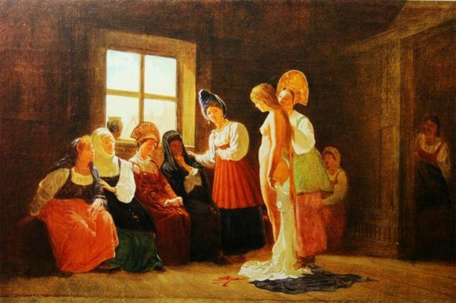 Смотрины невесты, Г.Г. Мясоедов