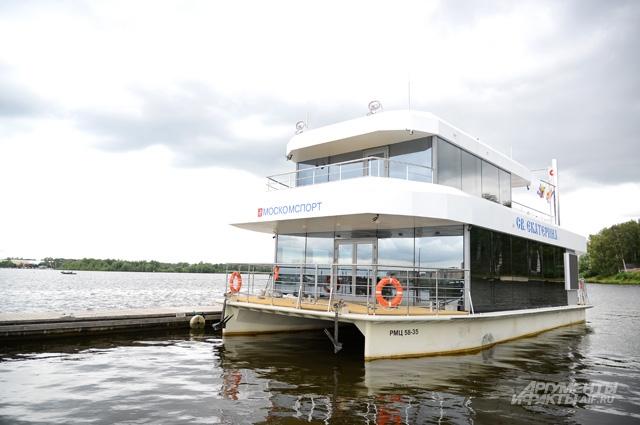 Спасательно-судейское судно «Святая Екатерина» - воплощённая мечта.