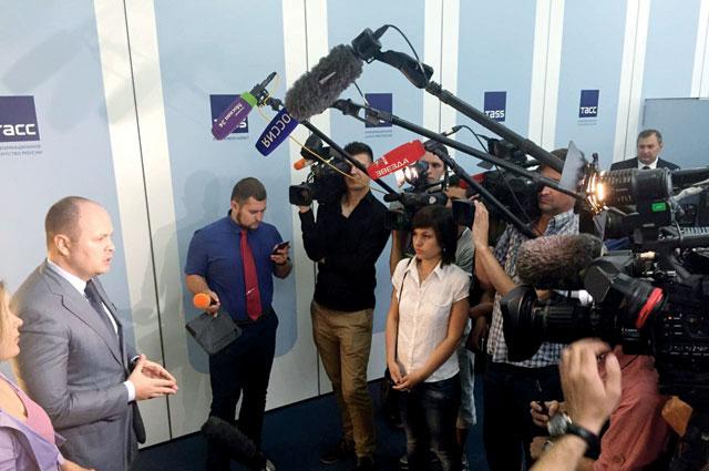 СМИ всегда проявляют интерес к деятельность «ОФИЦЕРОВ РОССИИ».