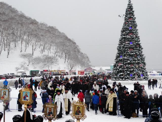 Крестный ход, Рождество