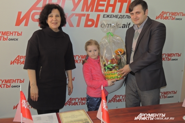 Анна Холодова, участница, занявшая первое место.