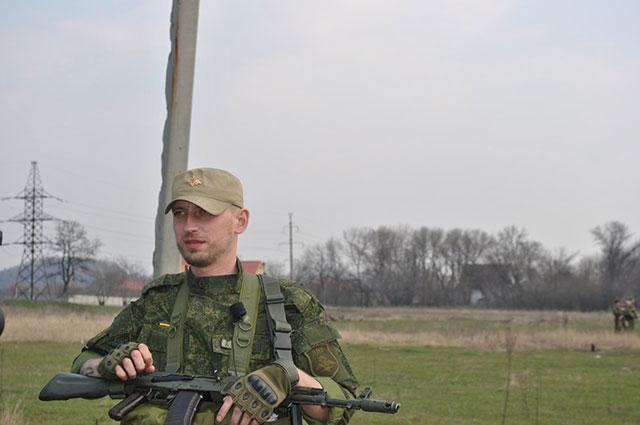 Старший лейтенант вооруженных сил ДНР, помощник начальника разведывательно-штурмового батальна, позывной «Варяг»