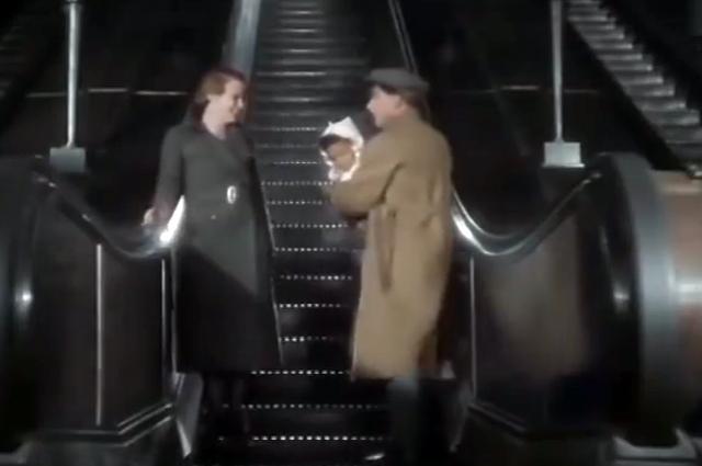 Впервые в истории советского кино съёмки велись в подземке.