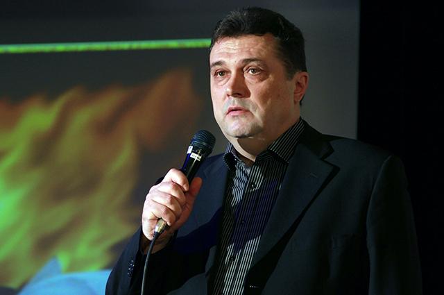 председатель Союза журналистов России Владимир Соловьёв.