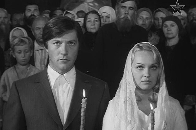Евгений Жариков и Наталья Гвоздикова, «Рождённая революцией» (1974-1977)