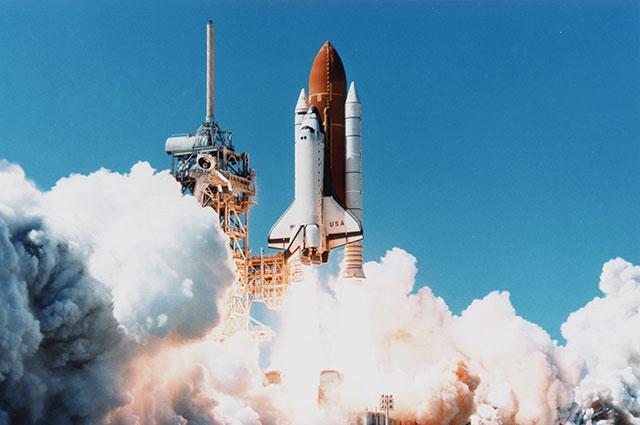 Запуск шаттла «Колумбия», 1997 г.