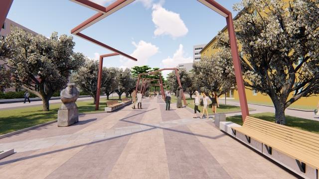 Маргарита мечтает превратить улицу в арт-пространство - удобное и красивое.