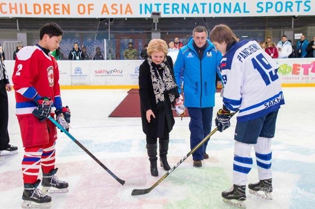 спортивные игры Дети Азии
