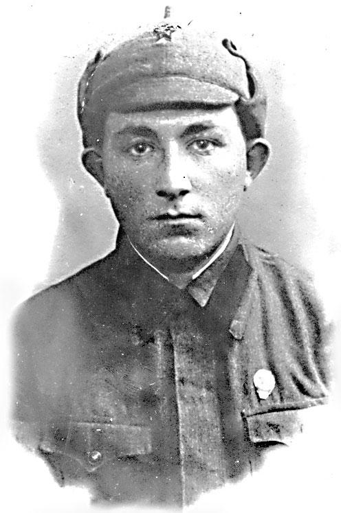 Красноармеец Абрам Миркин, апрель 1941 г.