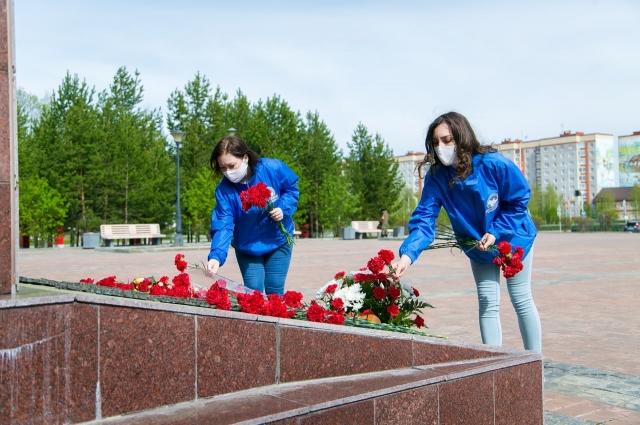 Волонтеры Лангепаса