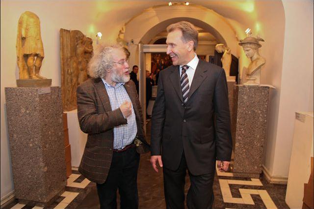 Алексей Венедиктов и первый заместитель председателя Правительства РФ Игорь Шувалов