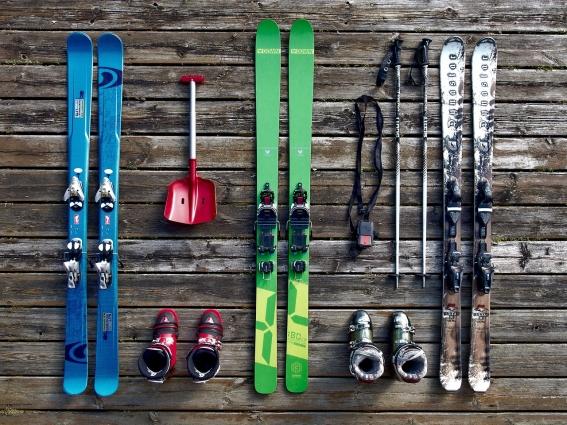 При выборе лыж необходимо обратить внимание на вес пользователя.