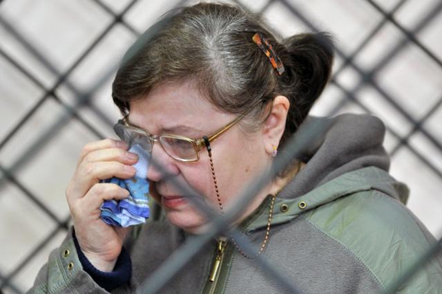 Мать лидера банды Сергея Цапка Надежда